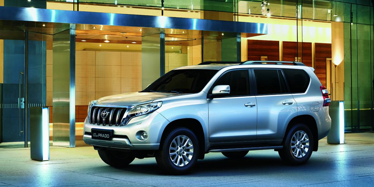 Camioneta Toyota Land Cruiser Prado