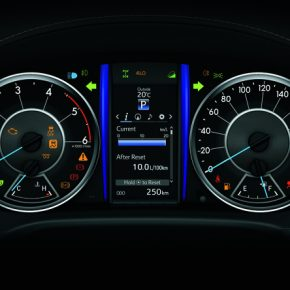 Toyota SW4 Tablero