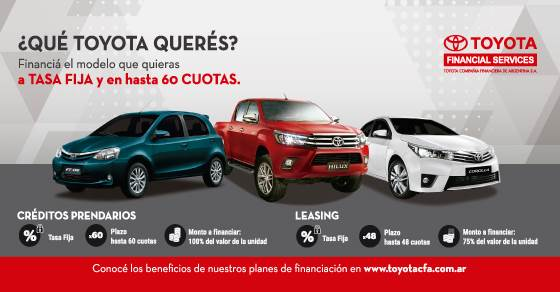 Financiación Toyota Uzcudun